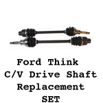 Ford Think Halfshafts