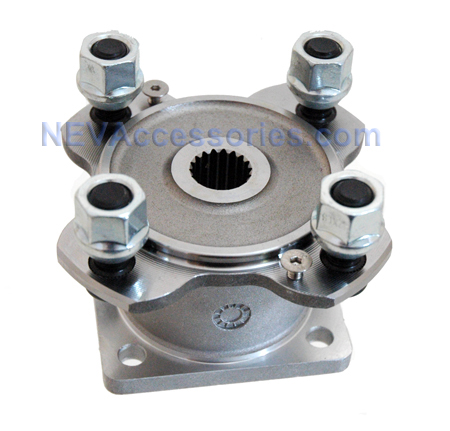 GEM CAR HUB ASSEMBLY WITH BEARINGS