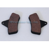 GEM DISC BRAKE PAD SET OF 2