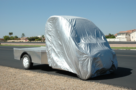 GEM CAR COVER - SILVER LIGHTWEIGHT- TRUCK