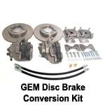 GEM Car Disc Brake Conversion Kit