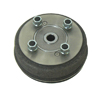 GEM CAR BRAKE / WHEEL ASSY FRONT 99-04