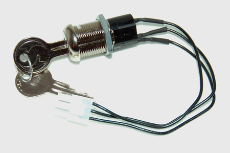 GEM CAR IGNITION KEY SWITCH