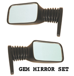 GEM Car Mirror Set