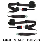 GEM Car Seat Belt