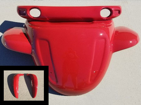 GEM FRONT HOOD WITH MUD GUARDS