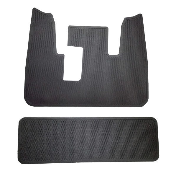 GEM CAR OE STYLE RUBBER FLOOR MAT FRONT AND REAR