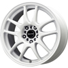 16 WHEEL AND TIRE PACKAGE 10 SPOKE WHITE - SET OF 4